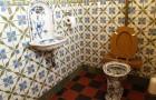 Montera en toalettstol